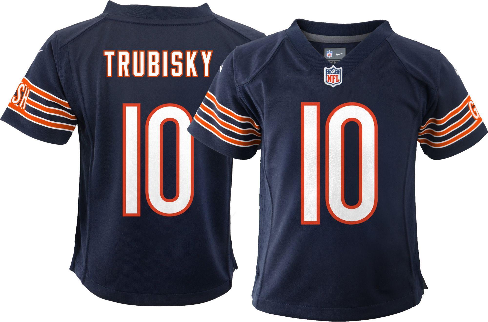 san francisco 2b27a 16b1f Nike Boys' Home Game Jersey Chicago Bears Mitchell Trubisky ...