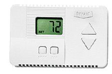 Thermostat By Bryant For Residential Air Conditioner Accessories Thermostat Digital