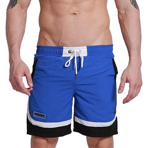 cb5f7c9a8ee69 Summer Men Beach Board Shorts Polyester Quick Dry Male Man Bermudas Surfing  Swim Shorts Swimwear GYM Sportswear Insider Liner