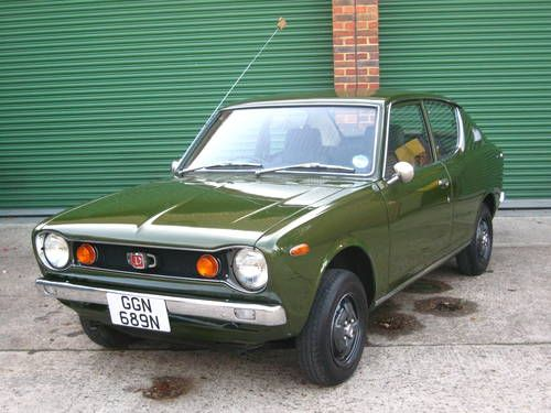 Datsun 100a 1974 My First Car In Dark Blue With Datsun Go