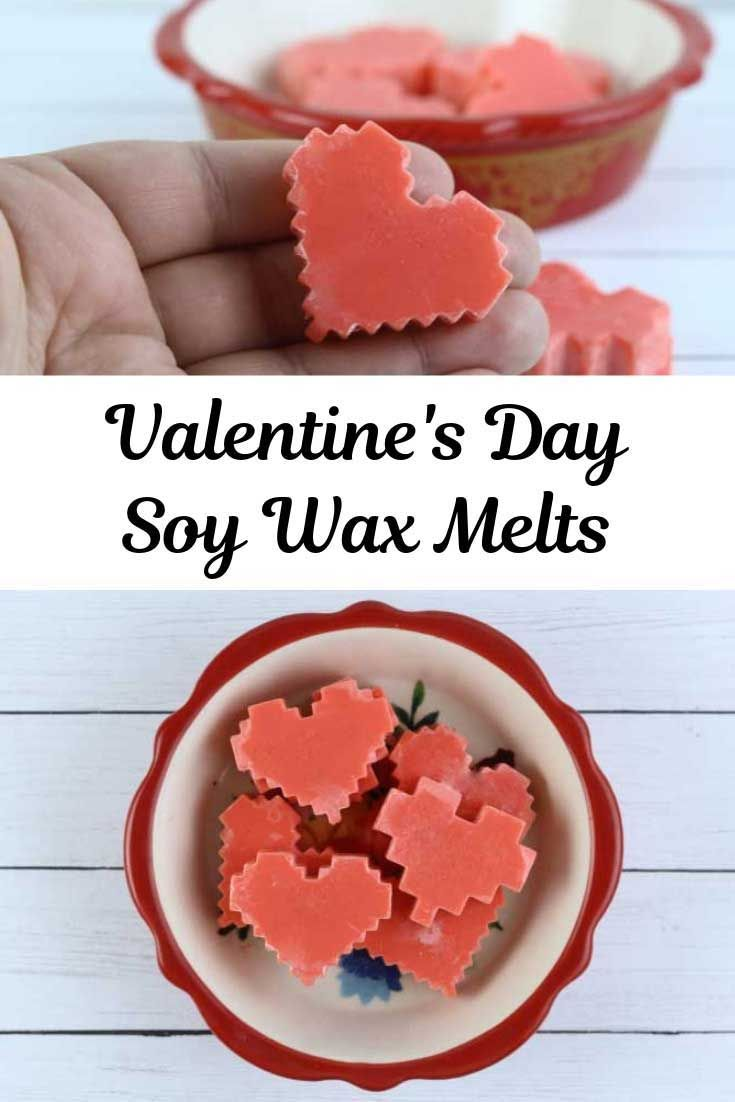 How to make soy wax melts for valentines day in 2020
