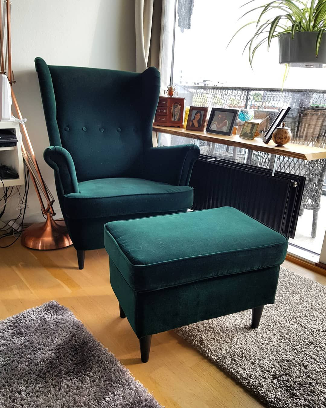Incredible Vicky Nielsen On Instagram Ikea Strandmon Chair Green Gmtry Best Dining Table And Chair Ideas Images Gmtryco