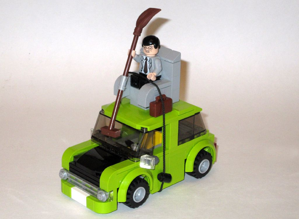 Lego mr bean car hi i like mr bean movie it is very funny and i like his mini car thats way i want to create it i want to demonstrating a famous scene from solutioingenieria Images