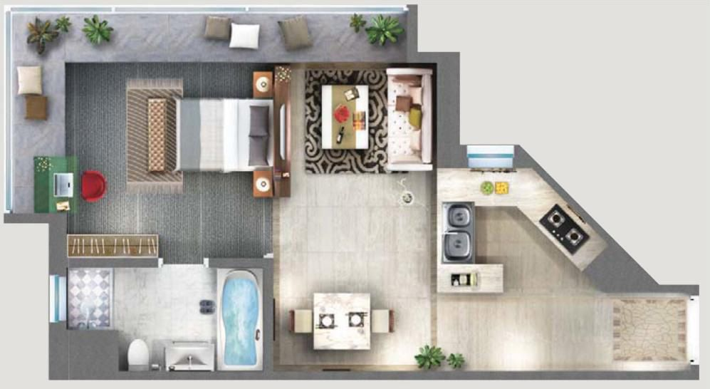 Cool Studio Apartment Layouts Cool Studio Apartment