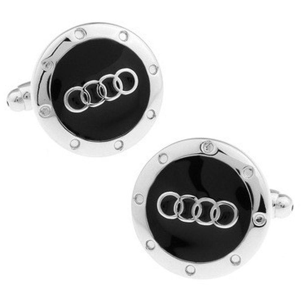 Audi Auto Cufflinks Luxury Car Cuff Links Groom wedding Car Dealer NEW