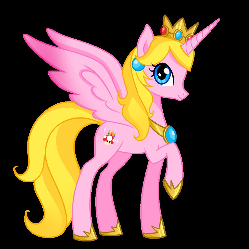 Pony princess peach by berrysplash pony princess peach by berrysplash child youngest - Princesse poney ...