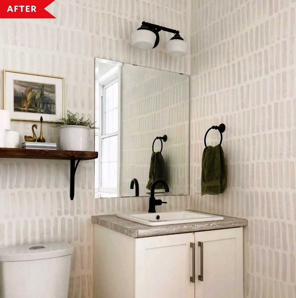 #diyhomedecoronabudgetpaint #diyhomedecoronabudg #everything #absolutely #wallpaper #transform #brilliant #spacious #bathroom #highend #storage #integra #2before #touche #beforeand After: These Walls Mimic High-End Wallpaper (for Under $2!),  Before and After: These Walls Mimic High-End Wallpaper (for Under $2!), Before and After: These Walls Mimic High-End Wallpaper (for Under $2!),   TOUCHE – Integra Group Ltd  These absolutely brilliant storage hacks will transform your bathroom    into a spa