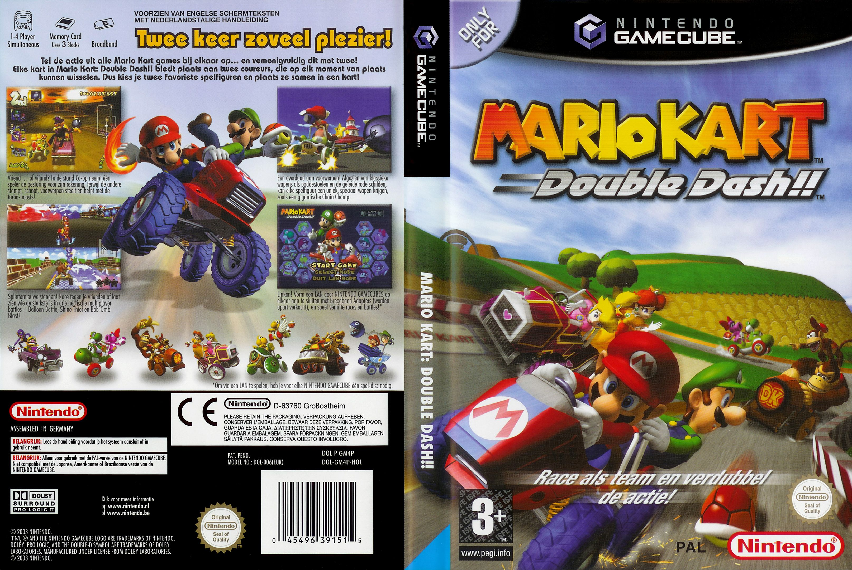 Mario Kart Double Dash For The Gamecube Gaming