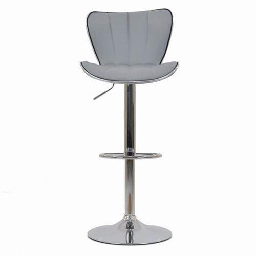 Brilliant Orren Ellis Pereira Height Adjustable Bar Stool In 2019 Ibusinesslaw Wood Chair Design Ideas Ibusinesslaworg