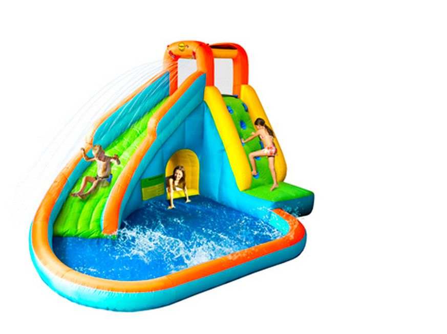 Inflatable Swimming Pool With Slide For Kids Kids Pools