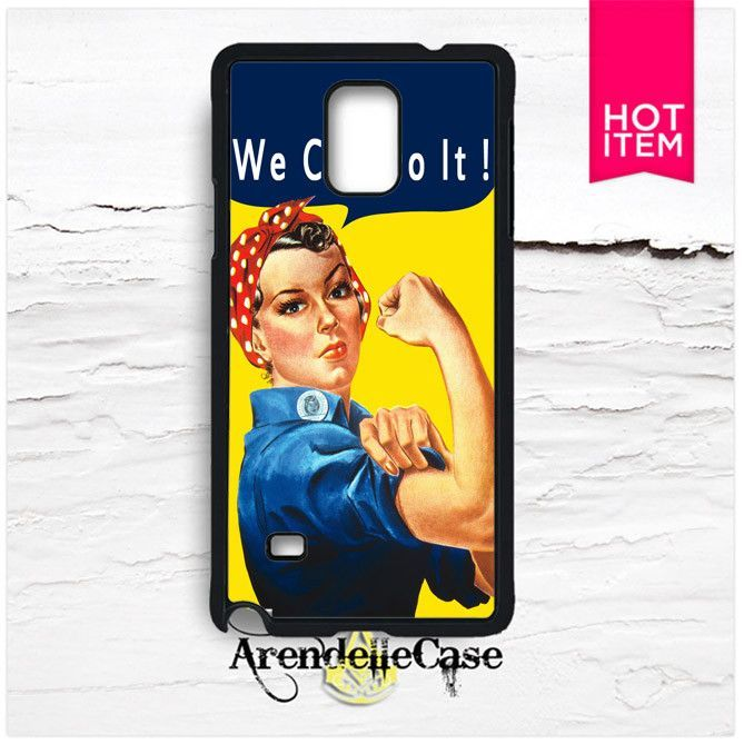 Rosie The Riveter We Can Do It Samsung Galaxy Note 4 Case