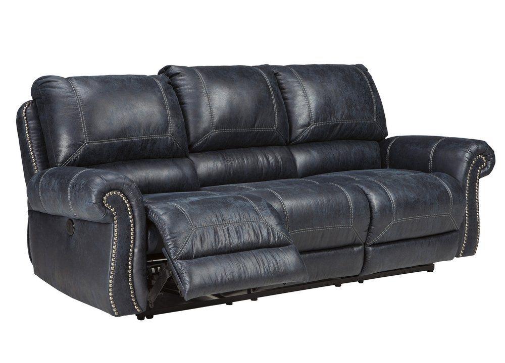 Best Ashley Furniture Signature Design Milhaven Faux Leather 400 x 300