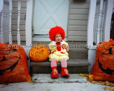 Coolest homemade mcdonald costume ideas and photos mcdonalds ronald mcdonald voltagebd Gallery