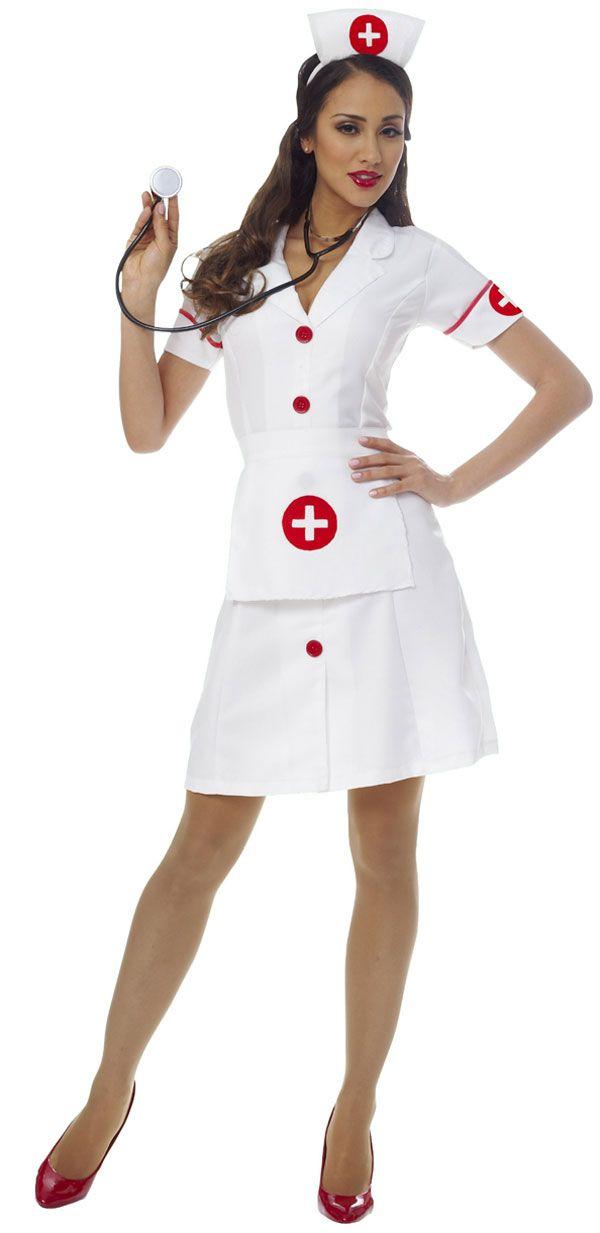 sexy not slutty nurse sexy halloween costumesadult - Womens Halloween Costumes Not Skanky