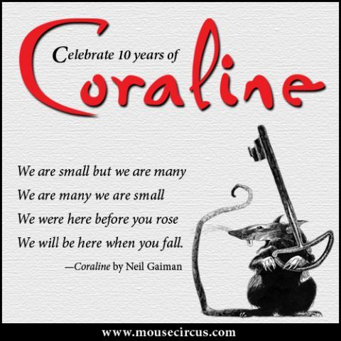 All The Rat S Verses Give Me The Chills Coraline Coraline Quotes Neil Gaiman Quotes