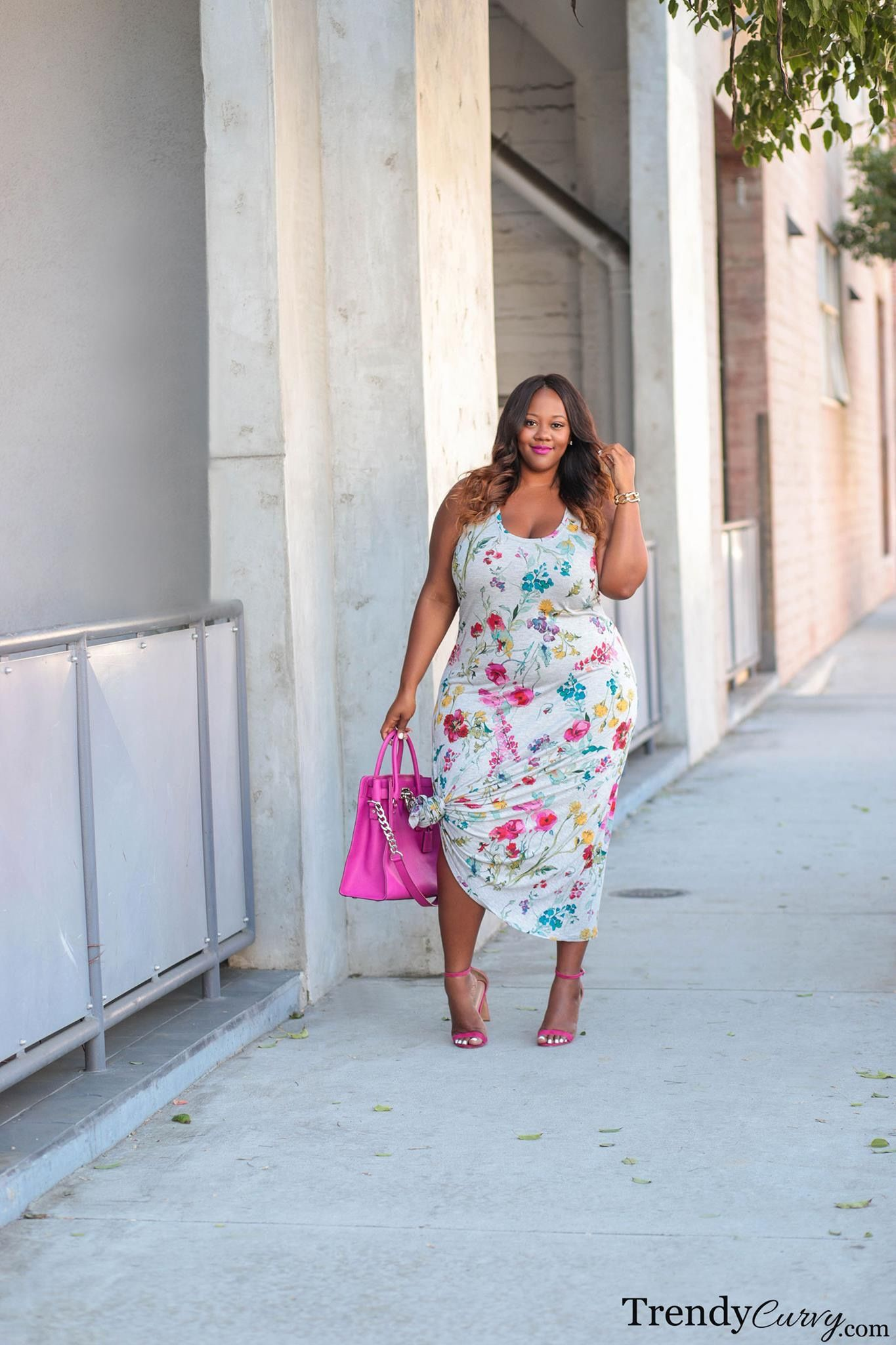 Steal: Gabi Fresh's The Real Chi Chi London Cheerily Beloved Dress Her Comments On Curvy Style, Online Shopping, and Her Swimsuits For All Collaboration forecast dress in on every day in 2019