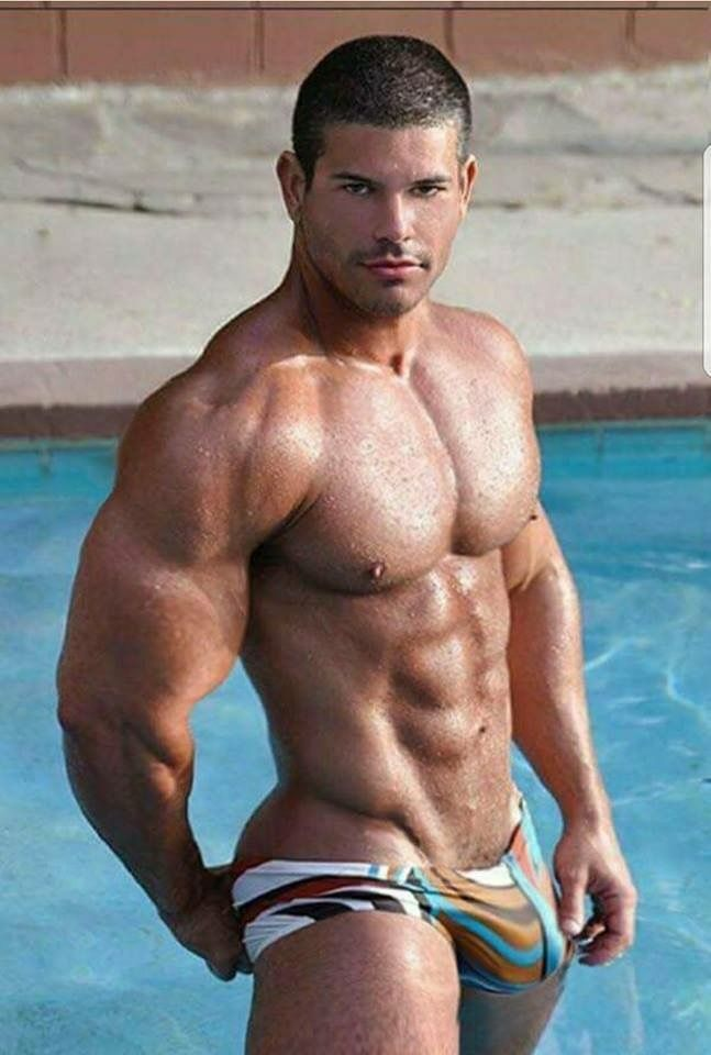 Big muscle hunk