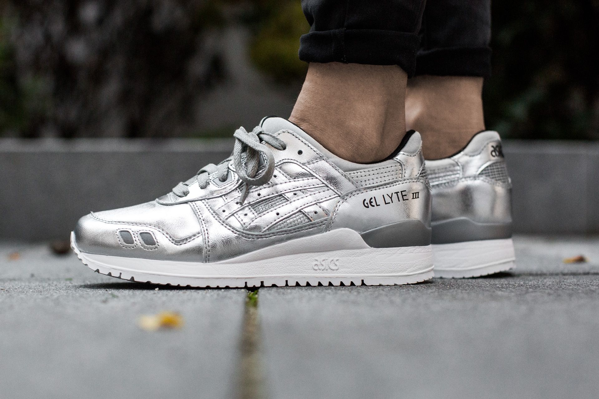 1c5f630944a5 ASICS GEL LYTE III  CHAMPAGNE PACK  SILVER SILVER available at http
