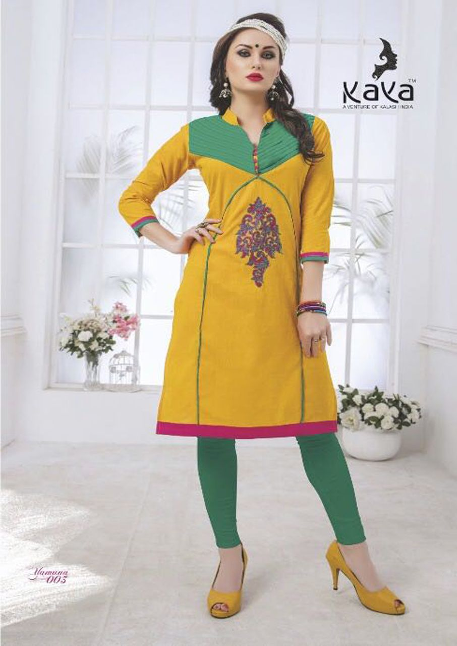 40b532cc50 Yamuna Embroidered Fancy Kurti Launch by Kaya | Kurti | Fancy kurti ...