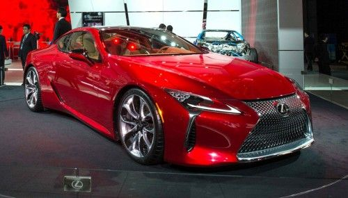 the 2017 lexus lc 500 was held at the top 10 sports and luxury cars