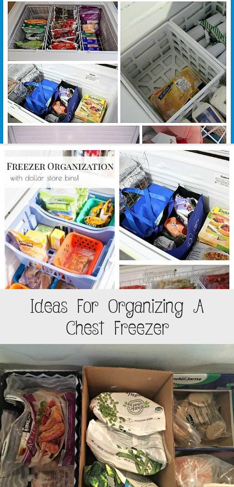 Ideas For Organizing A Chest Freezer Kitchen Decor Chest Freezer Chest Freezer Organization Freezer Organization