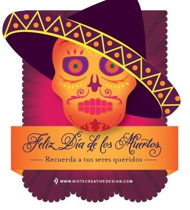 Feliz Día de los Muertos! #dayofthedead #diadelosmuertos #sugarskull #culture #traditions #celebratelovedones
