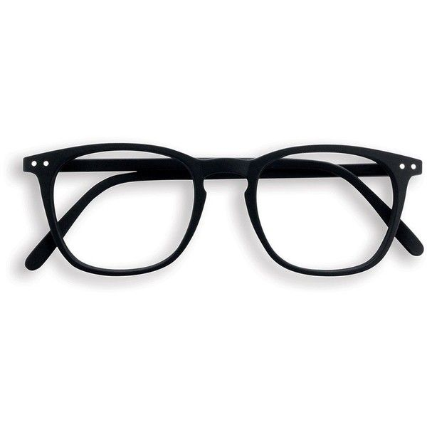 Black square frame reading glasses ($37) ❤ liked on Polyvore featuring  accessories, eyewear
