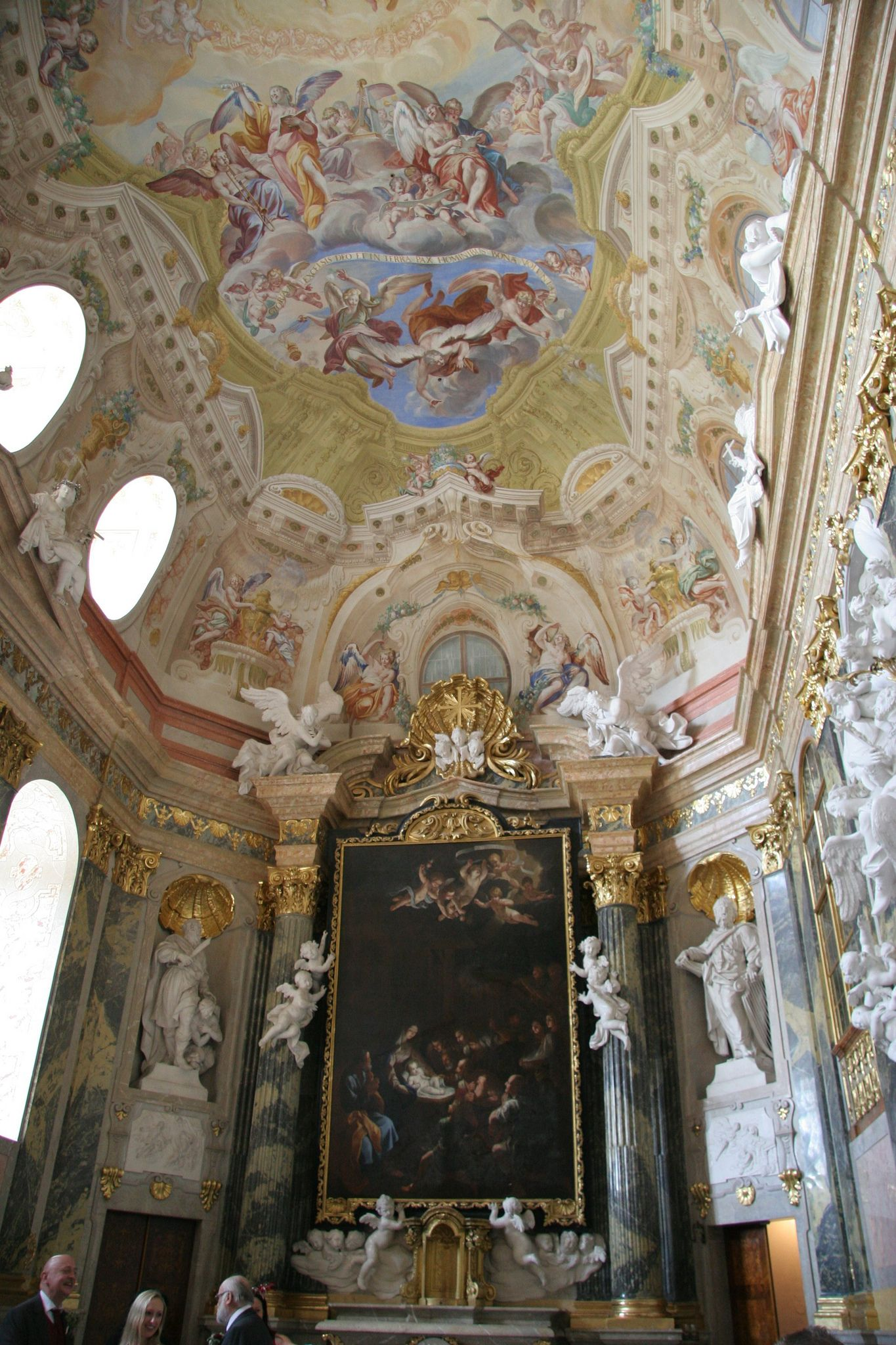 private chapel, Valtice Castle