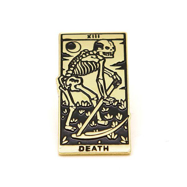 Death Tarot Enamel Pin