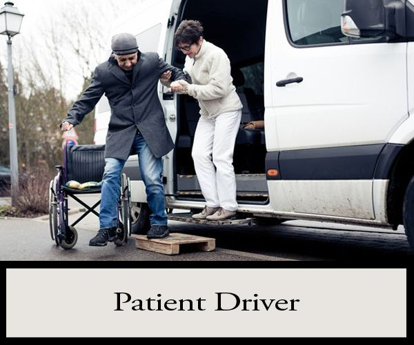 a Patient Driver! Focus on the transport of