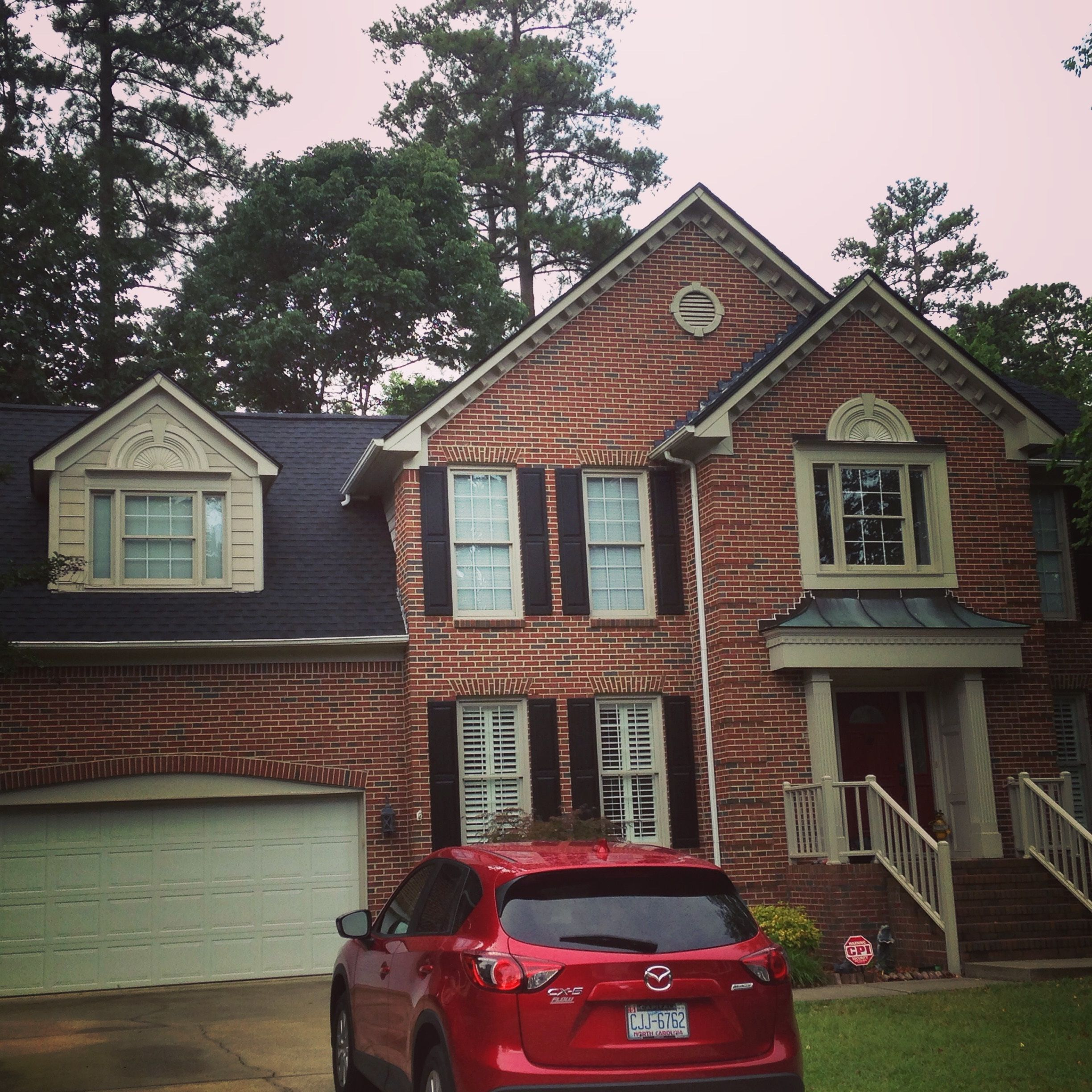 An After Photo Of A Recent Install Of A Gaf Timberline Hd Architectural Shingle In Charcoal Architectural Shingles Residential Roofing Roofing Systems