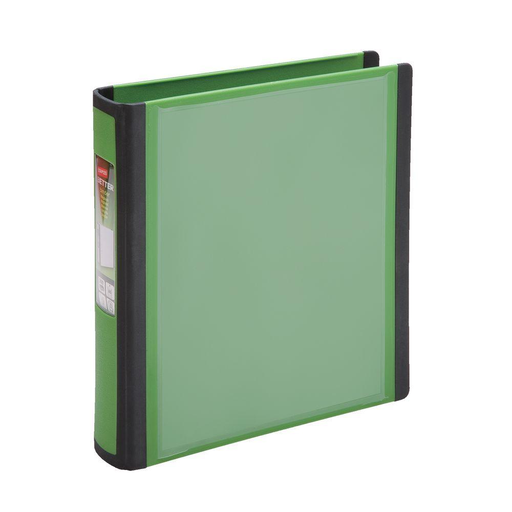 Staples Mini BETTER Binder A5 Green 2 Rings 20mm