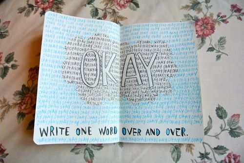 wreck this journal john green the fault in our stars okay
