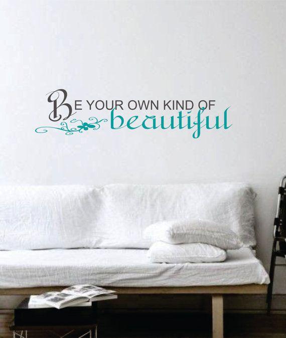 Custom Design Wall Art by PureImaginationVinyl on Etsy, $12.00