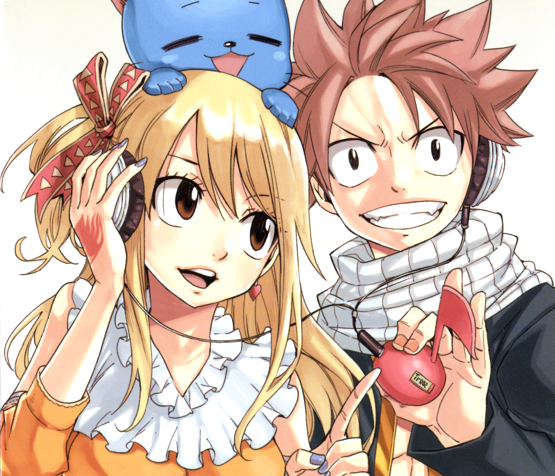 Anime Fairy Tail Natsu Dragneel Happy Fairy Tail Lucy