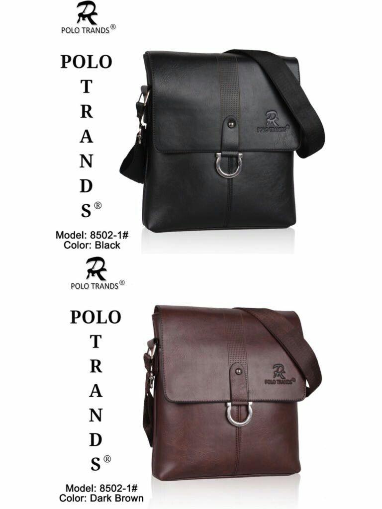 Tas Selempang Polo Trands Kode   8502-2 Size   23x5x25 Bahan   kulit  sintetis Berat   600 gram Warna   black 995133a3ff