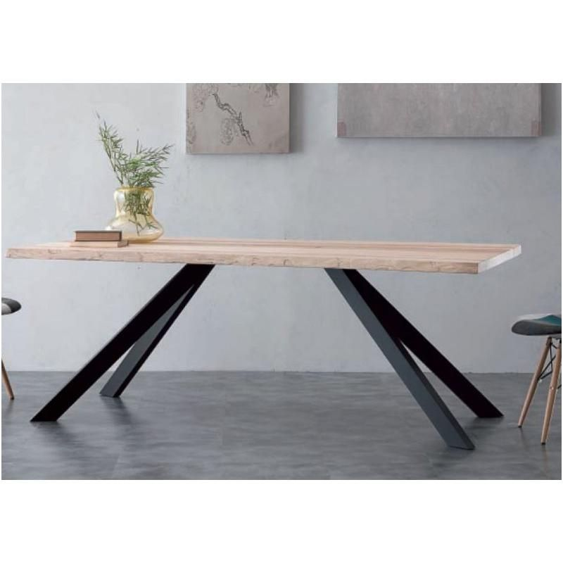 14 Immaculee Frais Table Extensible Bois Metal Stock
