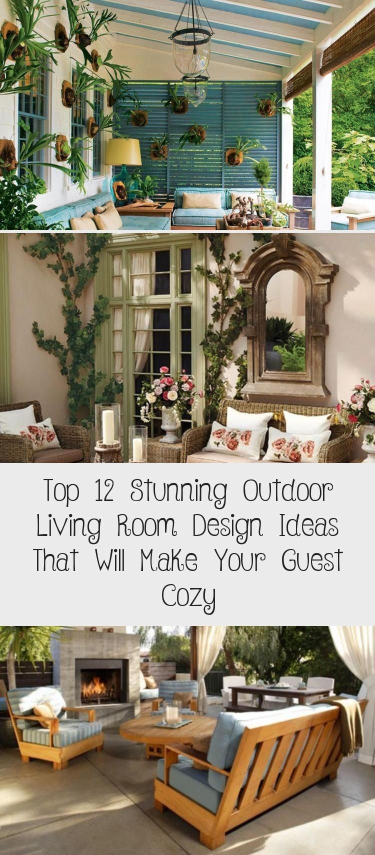 Top 12 Stunning Outdoor Living Room Design Ideas That Will Make Your Guest Cozy Buying Home In 2020 Outdoor Living Room Cozy House Modern Outdoor Living