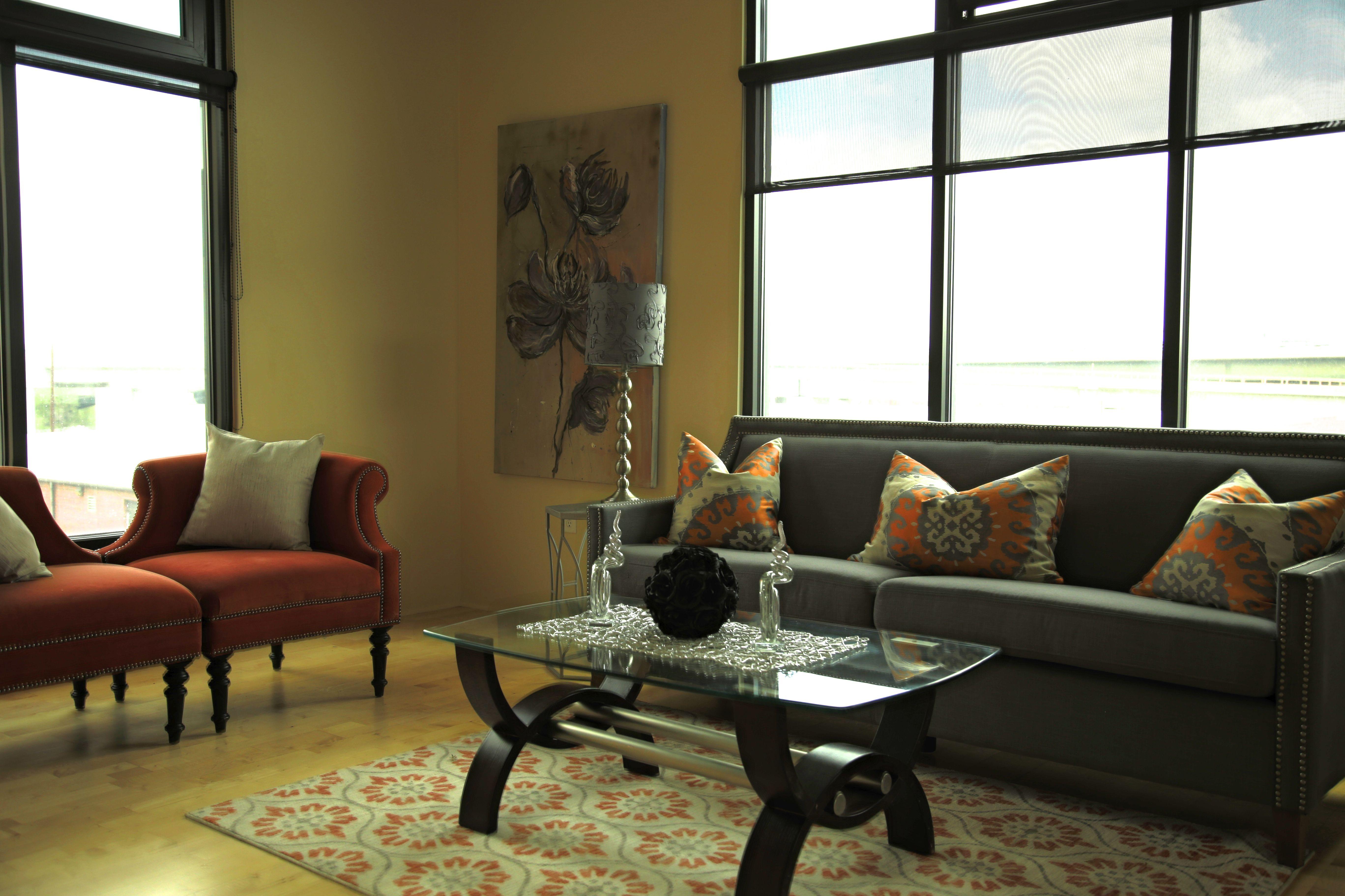 Interior design for loft in Lower Downtown Denver ...