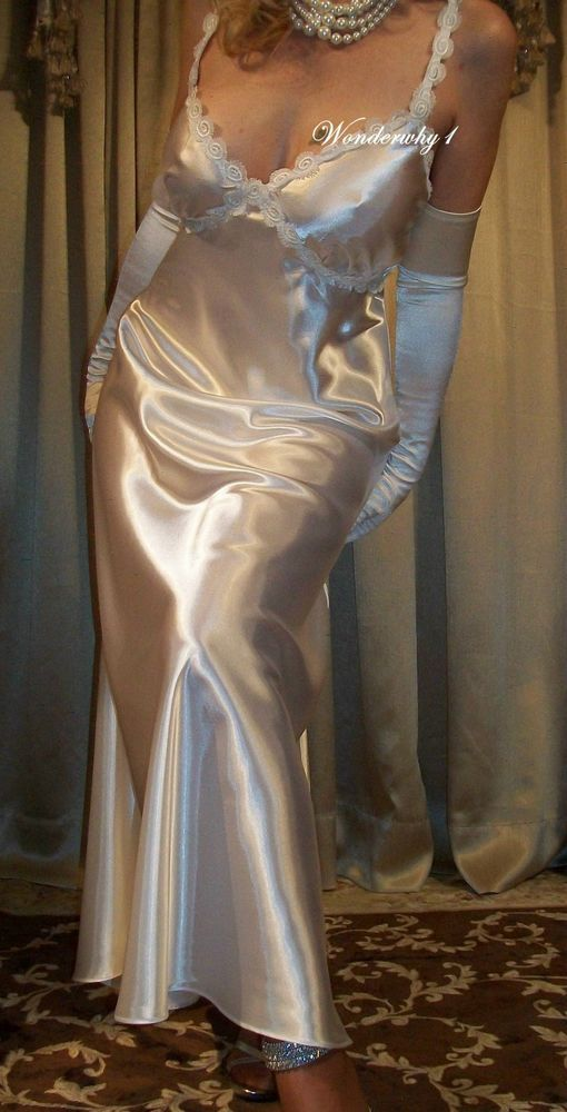 Backless wedding dress old hollywood glamour gown silk crepe gown destination wedding