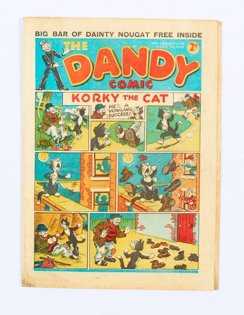 Pin by Al Smith on comic strips Dandy comic, Comics, Cat
