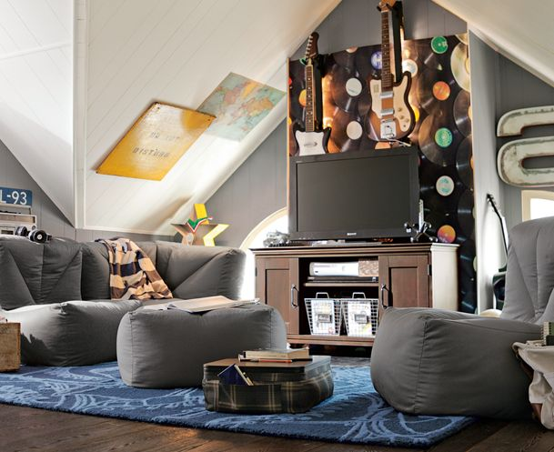 Like the gray, yellow, blue brown color combo for playroom