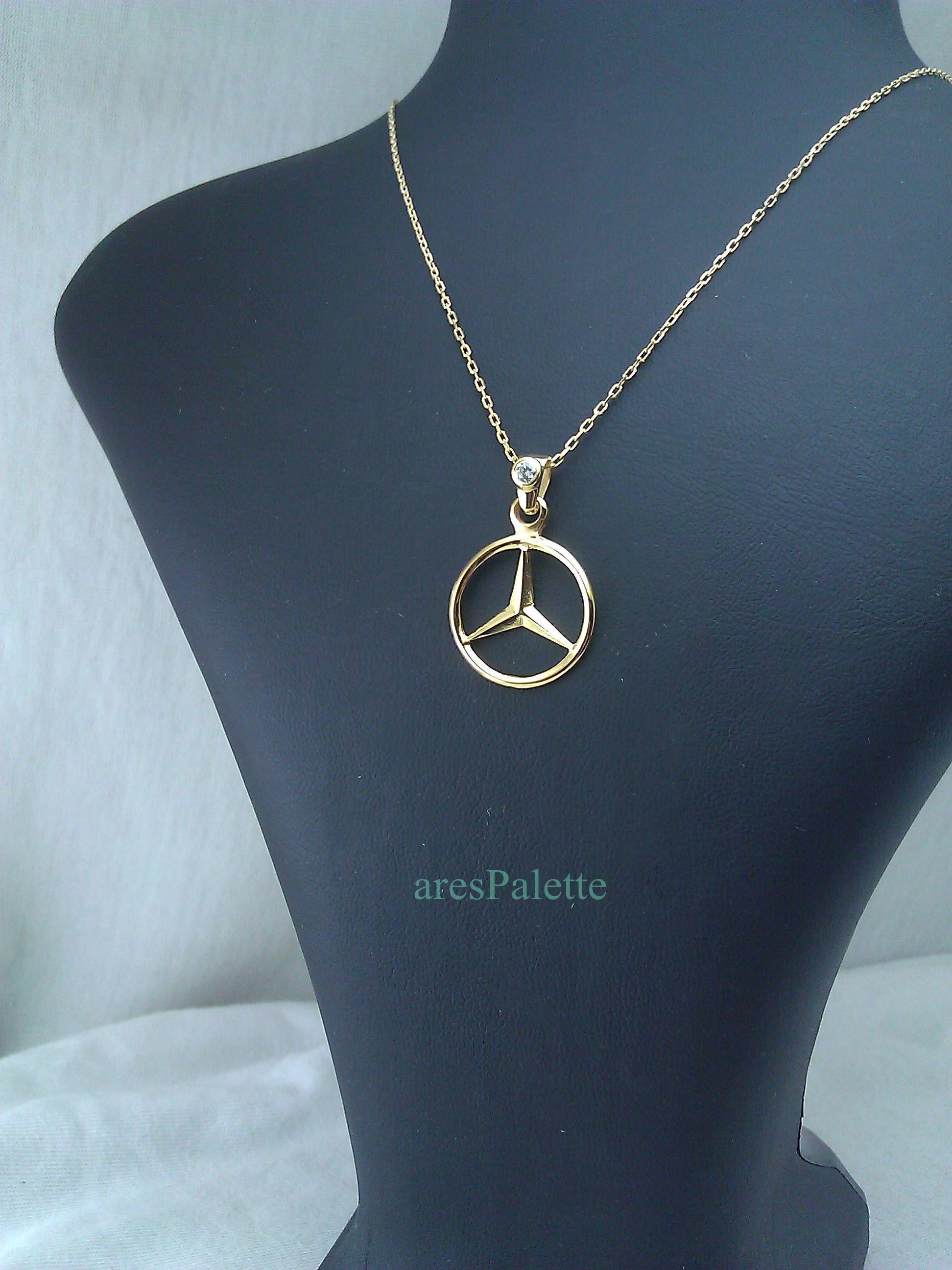 sito affidabile ba531 bf719 Mercedes-Benz ''Yellow Edition'' Necklace-Handmade-925 ...