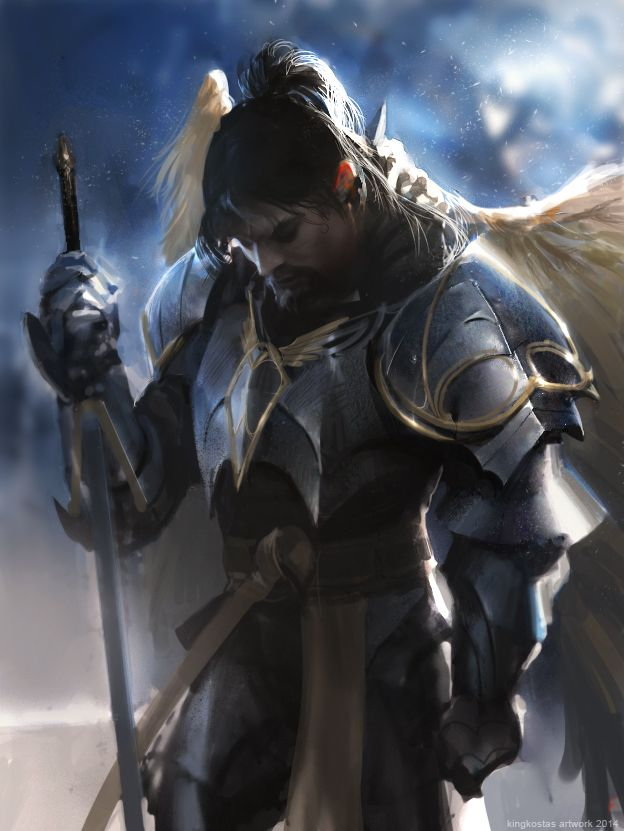 holy knight concept art - Google Search | VII 2 | Fantasy ...
