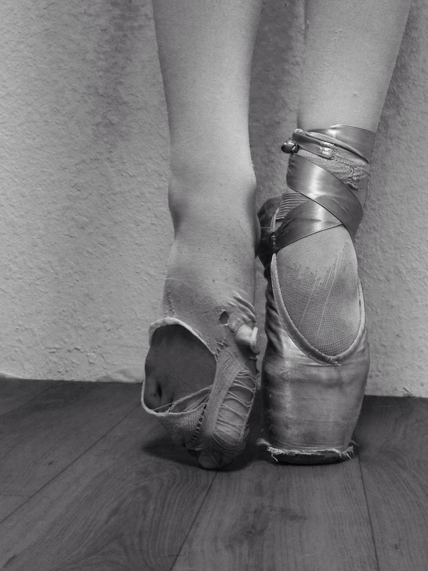 Ballet is hard work ballet ballet shoes sport shoes