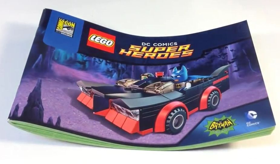 LEGO Batman Classic TV Series Batmobile Instructions | Lego batman ...
