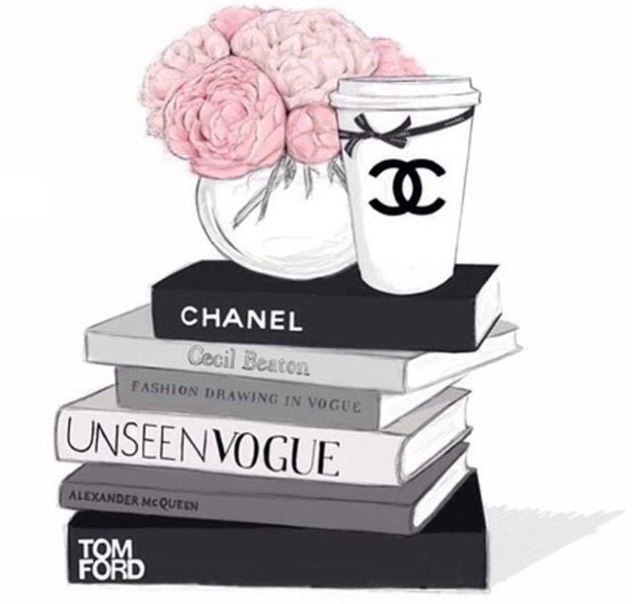 Coco Chanel Wall Stickers ̗̀♔ Pinterest Thania835 ♔ ̖́ Artwork Pinterest