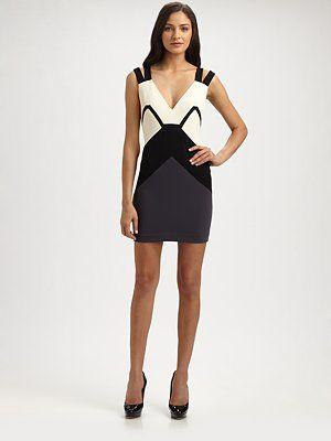 Jay Godfrey - Colorblock Dress - Saks.com