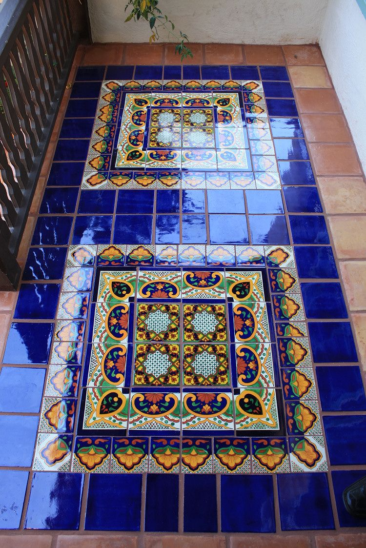 Mexican floor tiles tiles and patterns pinterest