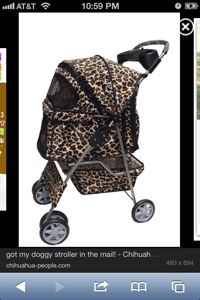 Animal Print Dog Stroller Yes Please Spoiled Animals